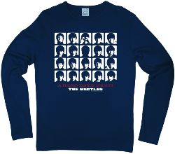 B longsleeve-Shirt A HARD DAY'S NIGHT UK ALBUM COVER