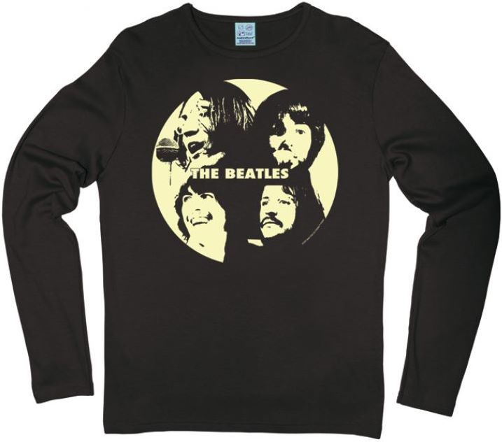 B longsleeve-Shirt LET IT BE FACES