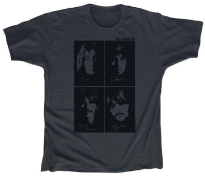 B T-Shirt THE BEATLES WHITE ALBUM