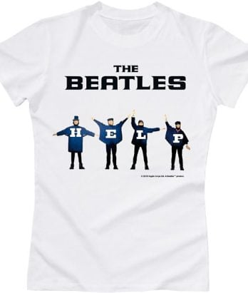 BEATLES Girlie-Shirt HELP !