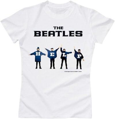 BEATLES Girlie-Shirt HELP !