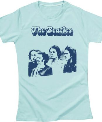BEATLES Girlie-Shirt FOTOSESSION
