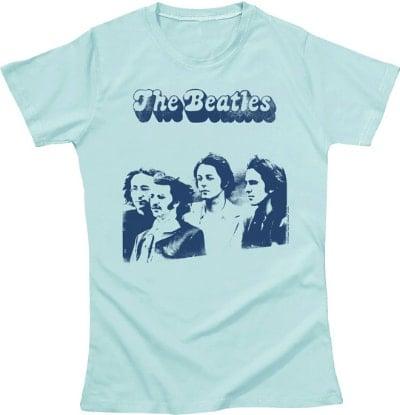 BEATLES Girlie-Shirt FOTOSESSION