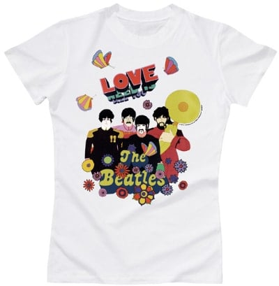 BEATLES Girlie-Shirt ALL YOU NEED IS LOVE