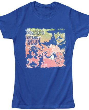BEATLES Girlie-Shirt GET BACK
