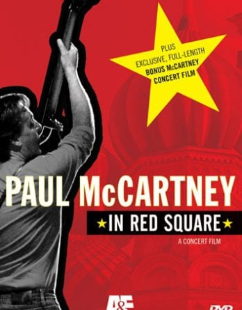 PAUL McCARTNEY: DVD IN RED SQUARE