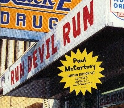 PAUL McCARTNEY: CD RUN DEVIL RUN Limited Edition