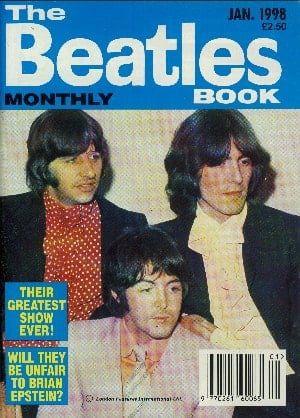 Fan-Magazin THE BEATLES (MONTHLY) BOOK 261