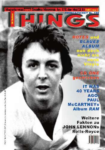 BEATLES: Fan-Magazin THINGS 190