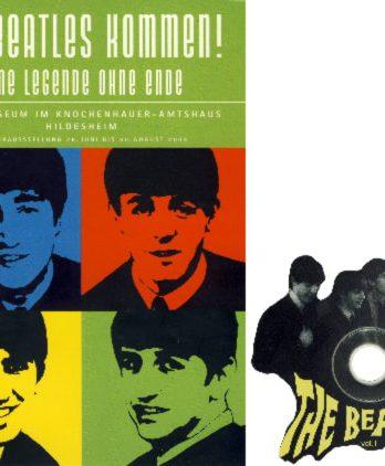 BEATLES: Buch & CD DIE BEATLES KOMMEN!