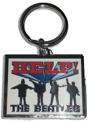 BEATLES: Schlüsselanhänger HELP