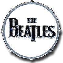 BEATLES Pin BASS DRUM THE BEATLES