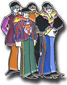 BEATLES Pin YELLOW SUBMARINE BAND