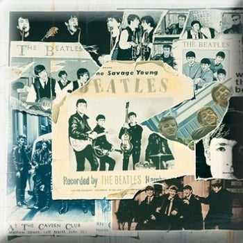 BEATLES Pin ANTHOLOGY 1 COVER