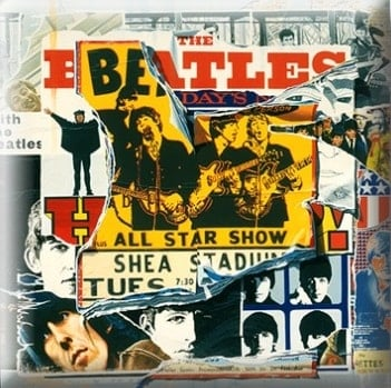 BEATLES Pin ANTHOLOGY 2 COVER