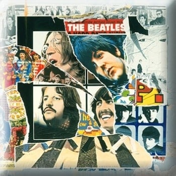 BEATLES Pin ANTHOLOGY 3 COVER