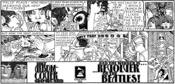 Art Print AP 02.0 Revolver Cover Comic Strip