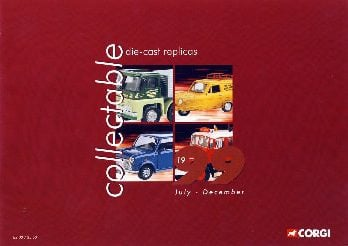 Heft-Katalog-COLLECTABLE CAST REPLICAS