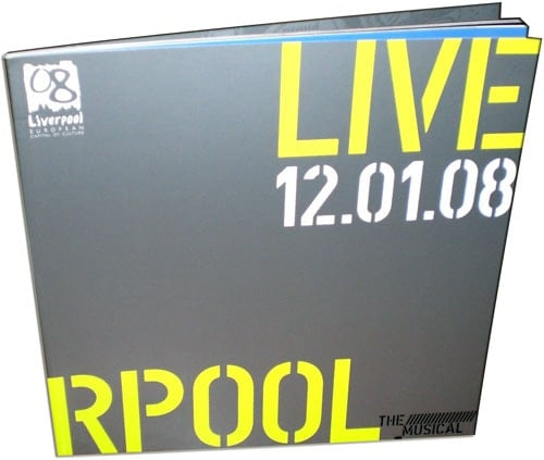 Buch LIVERPOOL THE MUSICAL