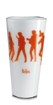 BEATLES: Kristall-Vase SHE LOVES YOU