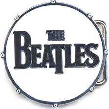 "BEATLES: Gürtelschnalle BASS DRUM LOGO ""THE BEATLES"""