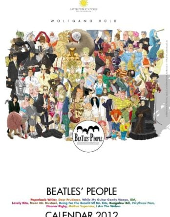Kalender: BEATLES' PEOPLE CALENDAR 2012