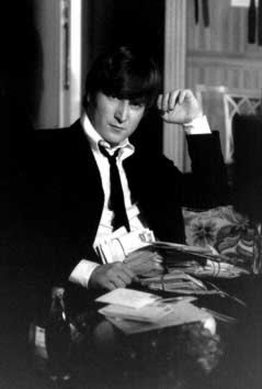 Art Print: JOHN LENNON DURING A HARD DAY'S NIGHT