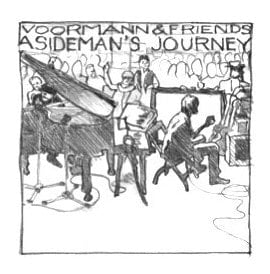 Art Print: A SIDEMAN'S JOURNEY SCETCH 1