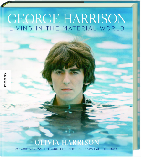 deutsches Buch GEORGE HARRISON - LIVING IN THE MATERIAL WORLD