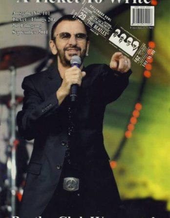 BEATLES: Fan-Magazin A TICKET TO WRITE 101