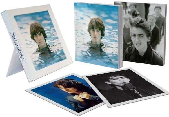 englische Box GEORGE HARRISON - LIVING IN THE MATERIAL WORLD