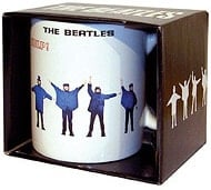 BEATLES: Kaffeebecher HELP! UK COVER