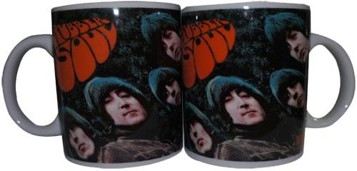 BEATLES: Kaffeebecher RUBBER SOUL COVER