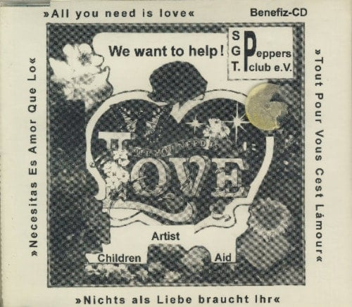 ARTIST CHILDREN AID: CD ALL YOU NEED IS LOVE