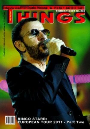 BEATLES: Fan-Magazin THINGS 194