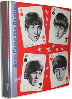 Buch & Poster HERE COME THE BEATLES
