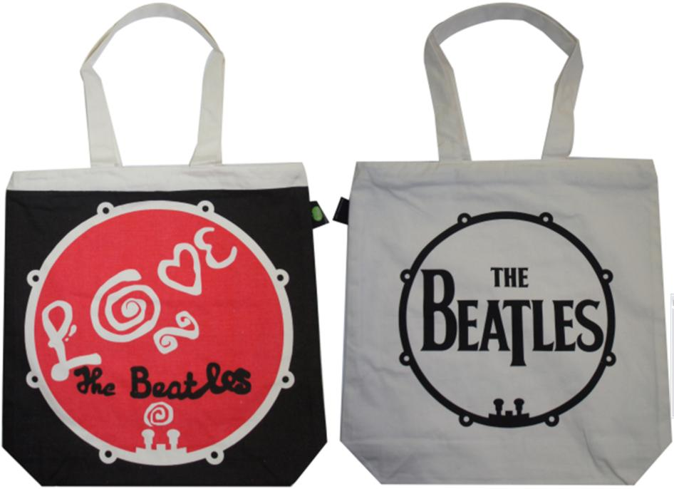 BEATLES-Shopperbag BASS LOVE