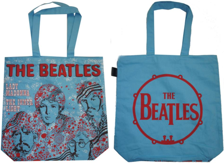 BEATLES-Shopperbag LADY MADONNA SINGLE COVER NETHERLANDS