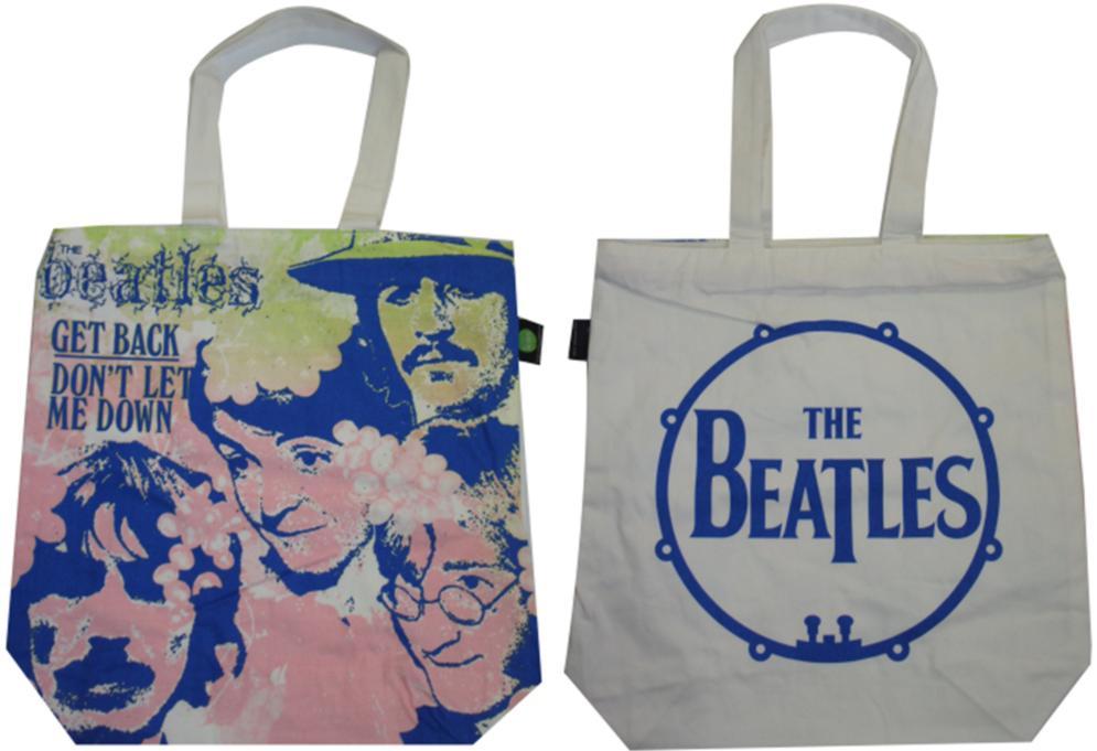 BEATLES-Shopperbag GET BACK SINGLE COVER SPAIN