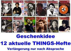 BEATLES: Heft Geschenk-Abo THINGS