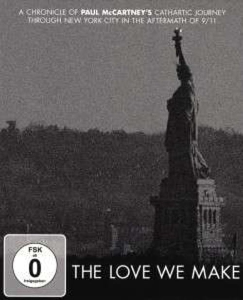 PAUL McCARTNEY: Blu-ray THE LOVE WE MAKE