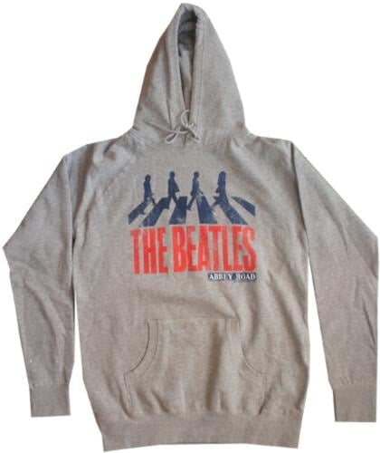 BEATLES-Hoodie ABBEY ROAD GREY.