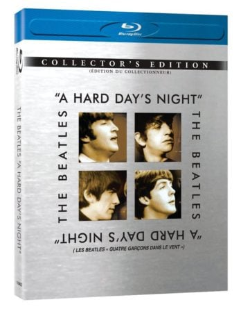 THE BEATLES Blu-ray A HARD DAY'S NIGHT