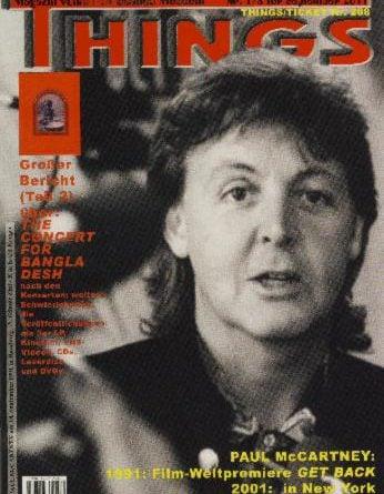 BEATLES: Fan-Magazin THINGS 196