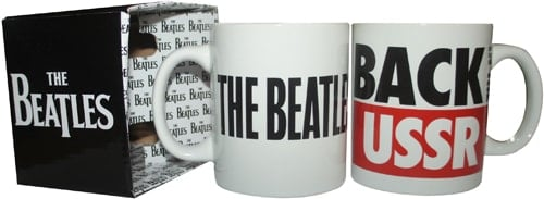 BEATLES: 1 Kaffeebecher BACK IN THE USSR