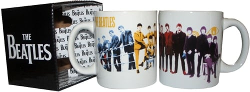 BEATLES: 1 Kaffeebecher ANTHOLOGY BOOK