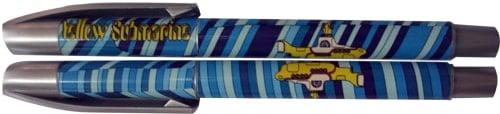 BEATLES-Kugelschreiber YELLOW SUBMARINE ON BLUE