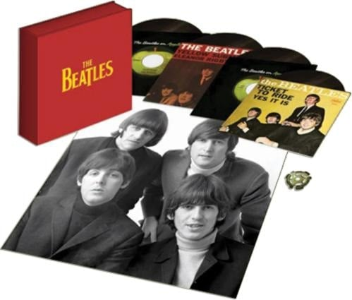 "Box mit 4 Singles THE BEATLES SINGLES 7"" VINYL BOX SET"