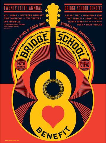 3er DVD THE BRIDGE SCHOOL CONCERTS
