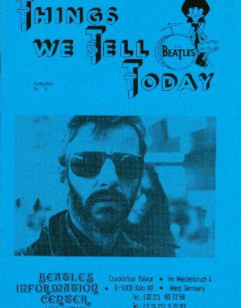 BEATLES: Fan-Magazin THINGS 9 (Nachdruck)